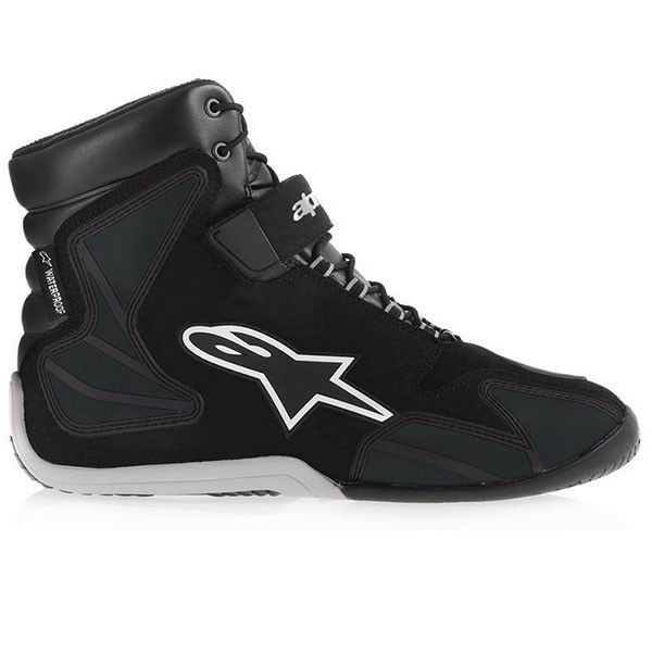 New! Alpinestars Fastback-2 Drystar Black Black Motorcycle Shoes Free Shipping